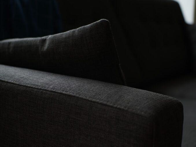 sort sofa